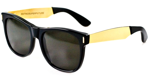 Image for Super  Basic Francis Black/Gold 202 Sunglasses