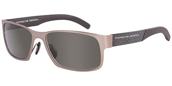 Design Optics Sunglasses  porsche design semi rectangle sunglasses p 8407 p 8447 18kt