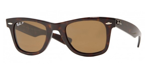ray ban womens  Ray-Ban RB 2140 Original Wayfarer with Polarized Lenses Sunglasses
