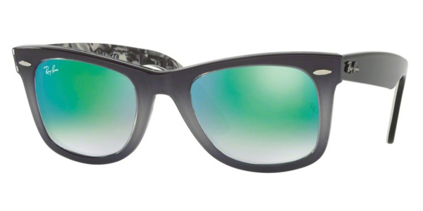 Ray-Ban  RB 2140 Original Wayfarer with Mirrored Lenses Sunglasses